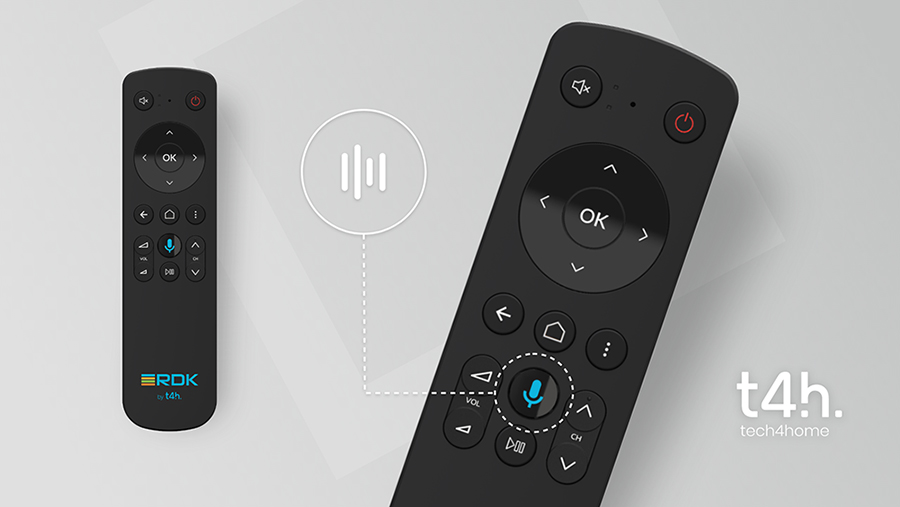 Tech4home Unveils Voice Remote Controls for  RDK and Metrological enabled Set-top Boxes